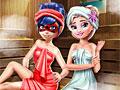 Леди Баг и Супер Кот: Отдых в сауне