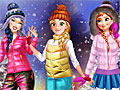 Принцессы Диснея: Зимние забавы