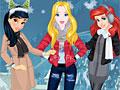 Принцессы Диснея: Рождественские праздники