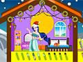 Принцессы Диснея: Новогодний кукольный дом