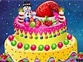 Украшение рождественского торта