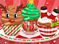Очаровательные рождественские кексы