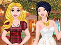 Принцессы Диснея: Рождественский бал