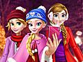 Принцессы Диснея: Рождественское селфи