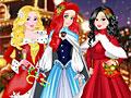 Принцессы Диснея на Рождество