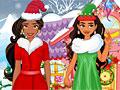 Принцессы Диснея: Рождественский шоппинг Елены и Моаны