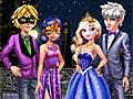 Принцессы Диснея: Пары в Новый год