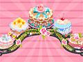 Сладкий свадебный торт