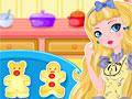 Эвер Афтер Хай: Блонди Локс готовит пряничных медвежат