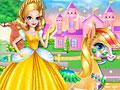 Принцесса Заира и пони