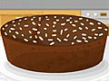 Абрикосовый пирог с какао