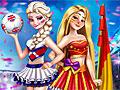 Принцессы Диснея: Футбольные соперники