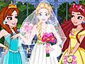 Принцессы Диснея: Свадьба в саду