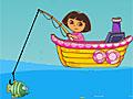 Даша на рыбалке