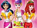 Принцессы Диснея: Промоутер в супермаркете