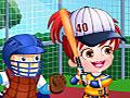 Бейсболистка малышка Хейзел