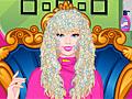 Прическа Барби для выпускного