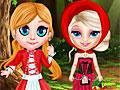 Холодное сердце: Эльза в красном капюшоне