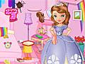 Принцесса София убирает радужную комнату