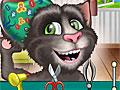 Говорящий кот Том у ЛОР-врача