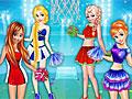 Принцессы Диснея: Чирлидеры баскетбольной команды