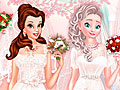 Принцессы Диснея в свадебном салоне