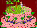 Летний торт Барби
