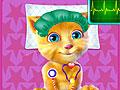 Говорящий кот Рыжик в больнице