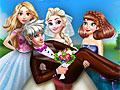 Принцессы Диснея: Свадебное фото королевы