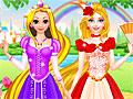 Принцессы Диснея: Наряды для Рапунцель и Барби