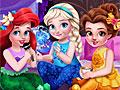 Принцессы Диснея: Пижамная вечеринка малышек