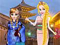 Принцессы Диснея: Кимоно против чеонгсам