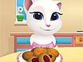 Говорящая Анжела готовит печенье с вареньем