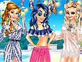 Принцессы Диснея: Пляжная мода бохо