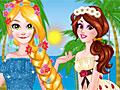 Принцессы Диснея: Лето Рапунцель и Белль в Калифорнии