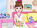 Уборка комнаты цветочной девочки