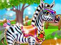 Забота о зебре