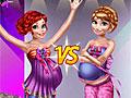 Беременные принцессы Диснея на подиуме