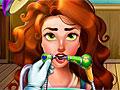 Оливия у стоматолога
