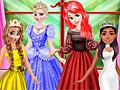 Принцессы Диснея: Цветные платья