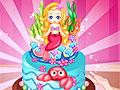 Холодное сердце: Морской торт от Эльзы