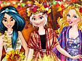 Принцессы Диснея: Осенний бал в колледже