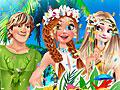 Принцессы Диснея: День рождения Анны на Гавайях