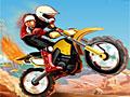 Пляжная поездка на мотоцикле