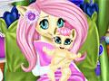 Мой маленький пони: Флаттершай рожает малыша