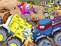 Спанч Боб: Уничтожение грузовика в дерби