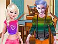 Холодное сердце: Свидание в библиотеке Эльзы и Джека
