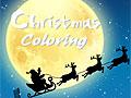 Рождественские раскраски