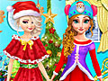 Принцессы Диснея: Вечеринка на Рождество