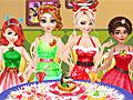 Принцессы Диснея: Рождественский ужин